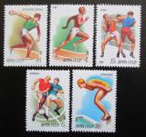 Poštovní známky SSSR 1981 Sport Mi# 5081-85