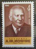 Poštovní známka SSSR 1980 Abram Joffe, fyzik Mi# 5007