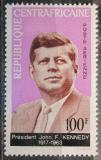 Poštovní známka SAR 1964 Prezident John F. Kennedy Mi# 63