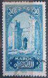 Poštovní známka Francouzské Maroko 1927 Městská brána Chella Mi# 60