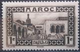 Poštovní známka Francouzské Maroko 1933 Palác sultána, Tanger Mi# 93