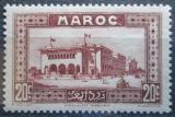 Poštovní známka Francouzské Maroko 1933 Pošta v Casablance Mi# 99