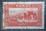 Poštovní známka Francouzské Maroko 1933 Rabat Mi# 105
