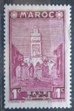 Poštovní známka Francouzské Maroko 1939 Mešita Salé Mi# 139