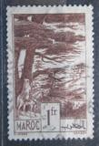 Poštovní známka Francouzské Maroko 1939 Cedry Mi# 158