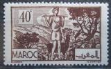 Poštovní známka Francouzské Maroko 1945 Pasák koz Mi# 216