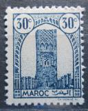 Poštovní známka Francouzské Maroko 1943 Hassanova věž Mi# 189