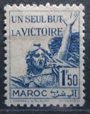 Poštovní známka Francouzské Maroko 1943 Vítězství Mi# 187