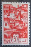 Poštovní známka Francouzské Maroko 1947 Maurské město Mi# 243