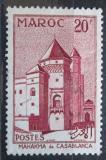 Poštovní známka Francouzské Maroko 1955 Soudní budova, Casablanca Mi# 399