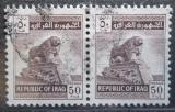 Poštovní známky Irák 1963 Babylonský lev, pár Mi# 361