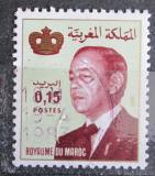 Poštovní známka Maroko 1981 Král Hassan II. Mi# 979