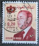 Poštovní známka Maroko 1981 Král Hassan II. Mi# 980