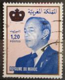 Poštovní známka Maroko 1988 Král Hassan II. Mi# 1149