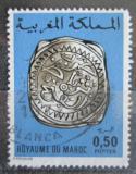 Poštovní známka Maroko 1976 Stará mince Mi# 825