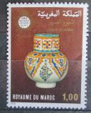 Poštovní známka Maroko 1978 Keramická váza Mi# 883