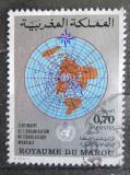 Poštovní známka Maroko 1973 Meteorologická spolupráce Mi# 720