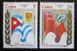 Poštovní známky Kuba 1986 Výročí Mi# 3012-13