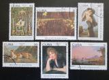 Poštovní známky Kuba 1982 Umění Mi# 2659-64