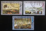 Poštovní známky Kuba 1981 Národní knihovna Mi# 2592-94