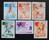 Poštovní známky Kuba 1978 Karibské hry Mi# 2309-14