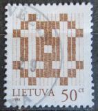 Poštovní známka Litva 1998 Dvojtý kříž Mi# 648 II