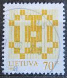 Poštovní známka Litva 1998 Dvojtý kříž Mi# 668 I