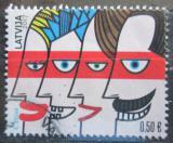 Poštovní známka Lotyšsko 2017 Den rodiny Mi# 1014