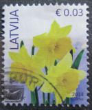 Poštovní známka Lotyšsko 2014 Narcisy Mi# 882