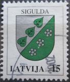 Poštovní známka Lotyšsko 2002 Znak Sigulda Mi# 564 A I