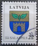 Poštovní známka Lotyšsko 2008 Znak Salaspils Mi# 719