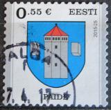 Poštovní známka Estonsko 2015 Znak Paide Mi# 838