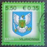 Poštovní známka Estonsko 2008 Znak Viljandimaa Mi# 612