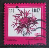 Poštovní známka Estonsko 2007 Centaurea phrygia Mi# 589