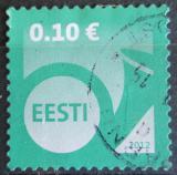 Poštovní známka Estonsko 2012 Poštovní roh Mi# 727