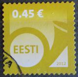 Poštovní známka Estonsko 2012 Poštovní roh Mi# 739