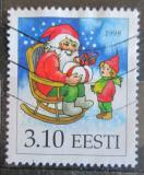 Poštovní známka Estonsko 1998 Vánoce Mi# 336