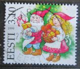 Poštovní známka Estonsko 1999 Vánoce Mi# 359