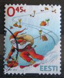 Poštovní známka Estonsko 2012 Vánoce Mi# 749