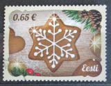 Poštovní známka Estonsko 2016 Vánoce Mi# 877