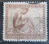 Poštovní známka Belgické Kongo 1923 Košíkář Mi# 70