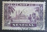 Poštovní známka Senegal 1935 Mešita Djourbel Mi# 132