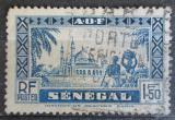 Poštovní známka Senegal 1935 Mešita Djourbel Mi# 140