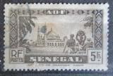 Poštovní známka Senegal 1935 Mešita Djourbel Mi# 145