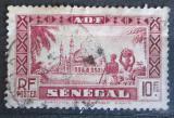Poštovní známka Senegal 1935 Mešita Djourbel Mi# 146