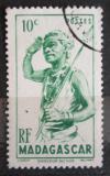 Poštovní známka Madagaskar 1946 Tanečník Mi# 387