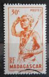 Poštovní známka Madagaskar 1946 Tanečník Mi# 388