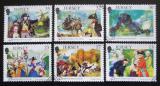 Poštovní známky Jersey, Velká Británie 1989 Francouzská revoluce Mi# 485-90