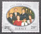 Poštovní známka Jersey, Velká Británie 1972 Královská rodina Mi# 76
