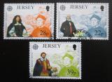 Poštovní známky Jersey, Velká Británie 1992 Evropa CEPT Mi# 574-76